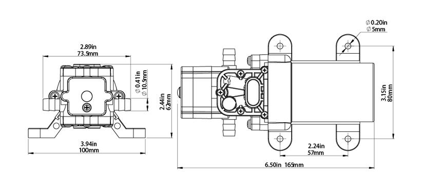 diaphragm pump 21 series